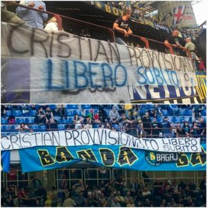 ميلانو: جماهير تطالب بحرية كرستيان في سان سيرو