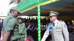 قائد اركان الحرس خلال تكريمه للرقيب سيداتي ولد هنون