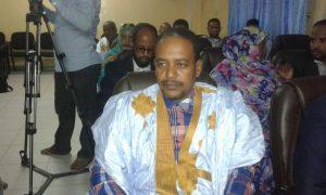 باب ولد احمدو ممثل الصحفيين المشاركين