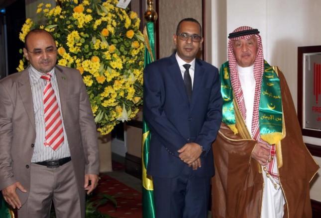 القنصل الموريتاني مع القنصل الشرفي لكندا