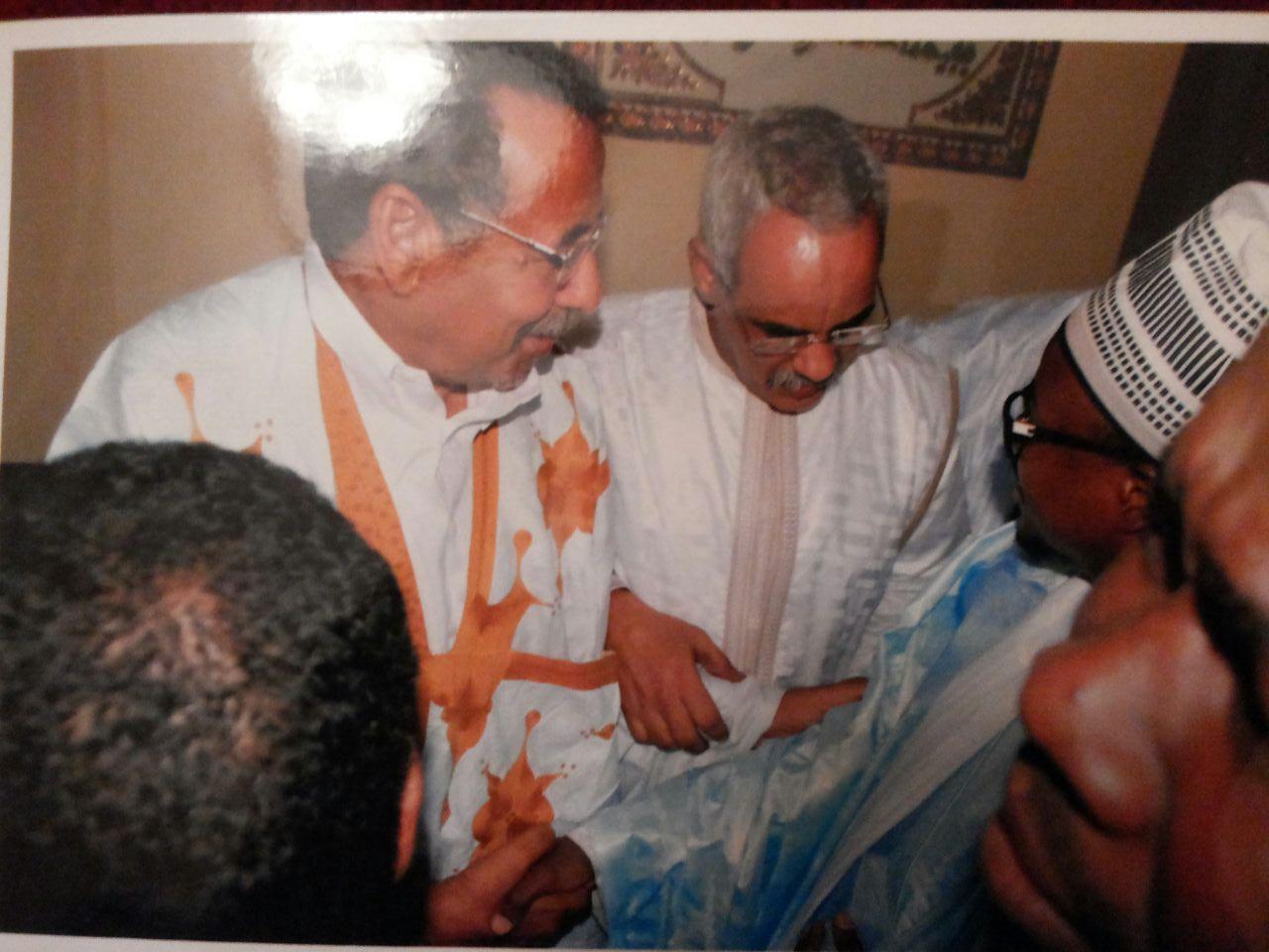 رفقة السفير الموريتاني بداكار