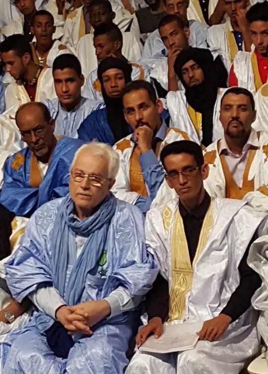 الأستاذ ممو الخراشي رفقة الموسيقار فريد حسن