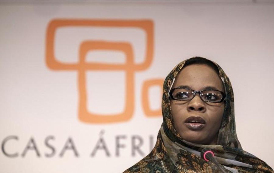 صورة اعتماد خديجة امبارك فال سفيرة لدى الإتحاد الأفريقي