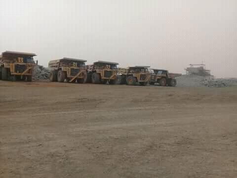 صورة أگجوجت : توقف شاحنات MCM بسبب فصل عاملين