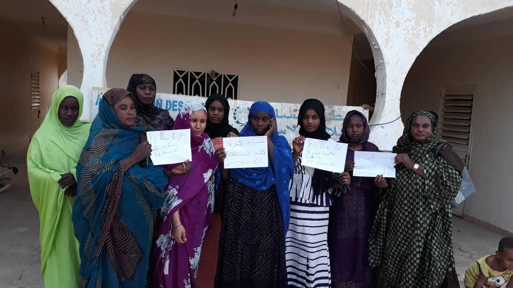 صورة رابطة النساء معيلات الأسر تخلد اليوم العالمي لمكافحة العنف ضد المرأة