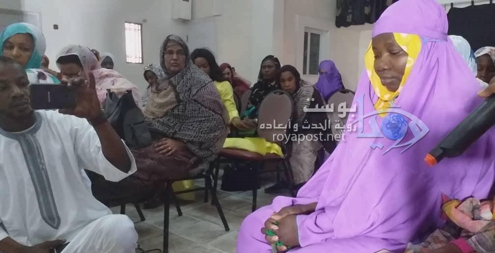 صورة گجمولة بنت عبدي.. سيدة تكفكف دموع حزن لا تنهمر بسبب العمى
