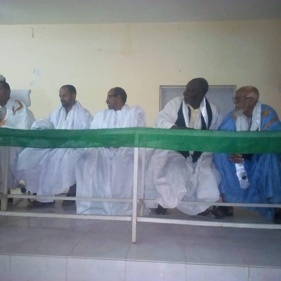 صورة لعيون: تظاهرة سياسية لدعم المرشح محمد ولد الغزواني