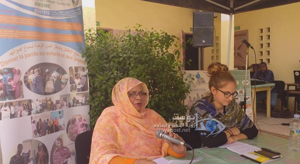 صورة الحقوقية منت الطالب موسى: الاعتداءات الجنسية وصلت لنساء في خريف العمر