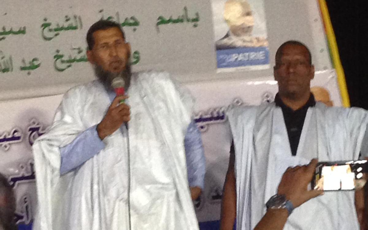 صورة استقالة مرشح حزب التكتل لنيابيات لبراكنة