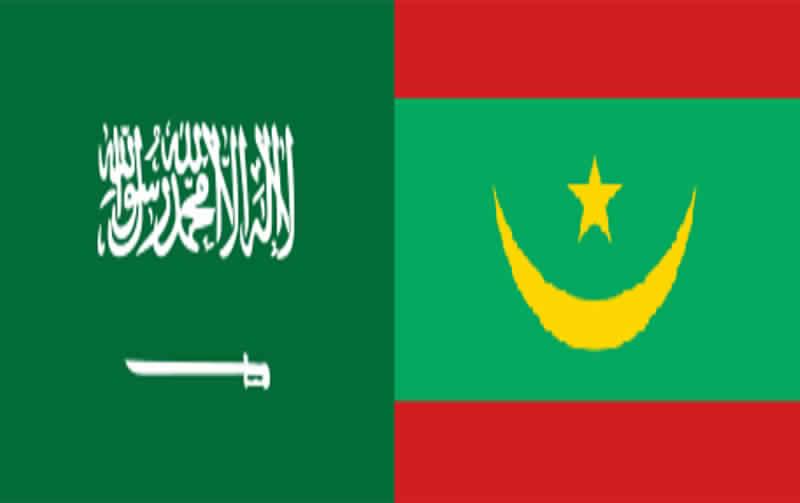 صورة العاهل السعودي وولي عهده يهنئان ولد الغزواني
