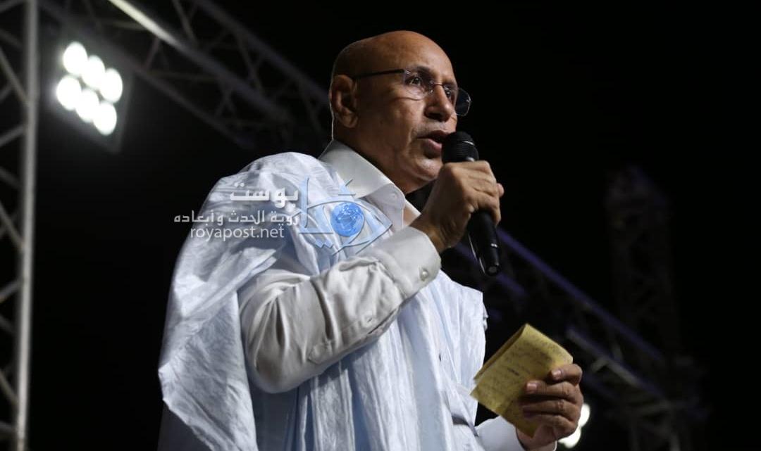 صورة غزواني يهنئ الموريتانيين ويحث على الشفافية في تنفيذ المشاريع الحكومية