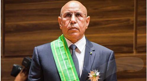 صورة رئيس الرابطة الاوروبية الموريتانية ينفي عدم ترشح غزواني لمأمورية ثانية
