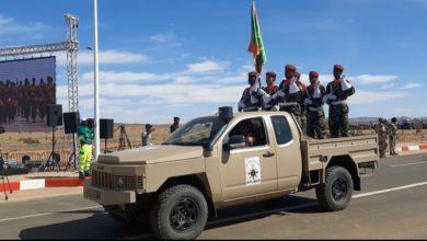 صورة عرض فرقة الصاعقة في عيد الاستقلال ال59 باكجوجت