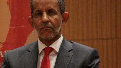 صورة إستقالة الحكومة الموريتانية في مكتب رئيس الجمهورية