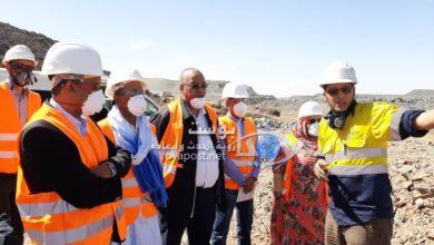 صورة الفريق البرلماني لحماية البيئة يطلع على مدى احترام شركة MCM لنظم البيئة