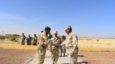 صورة سيلبابي: قائد المنطقة العسكرية الرابعة يتسلم مهامه