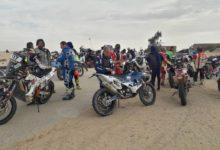 صورة 644 مشاركاً في رالي افريكا ايكو رايس يدخلون الأراضي الموريتانية