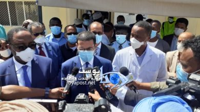 صورة وزارة الصحة: الحالات الثلاث من كوفيد 19 في موريتانيا صحتهم جيدة