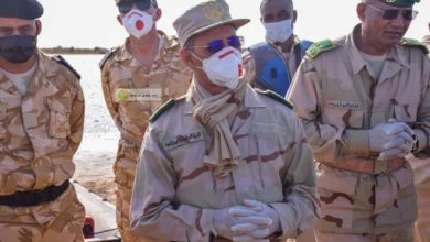 صورة الجيش ينفي أن تكون الفيديوهات المتداولة لعملية 10 ابريل