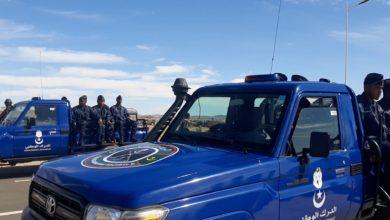 صورة إصابات بعد حادث انقلاب سيارة للدرك بنواذيبو