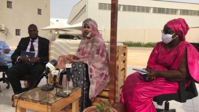 صورة إدارة شركة سفن موريتانيا تستعرض حصيلة العمل والعلاقة بالزبناء