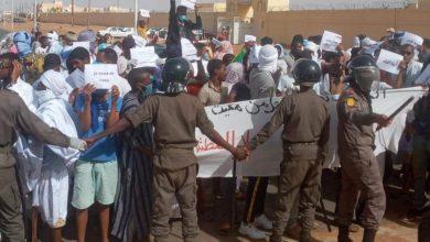 صورة اگجوجت: تجدد المظاهرات المطالبة بتوفير الخدمات الأساسية