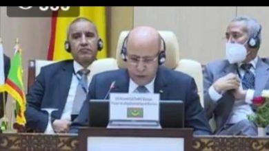 صورة غزواني يشدد على ضرورة تفعيل آلية احترام حقوق الإنسان خلال التدخلات العسكرية