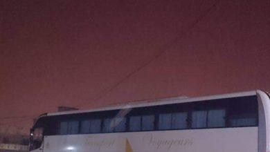 صورة لعيون: إخماد حريق هائل في محطة وقود شركة صونيف