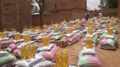 صورة گيديماغا: توزيع سلات غذائية على المستغفين