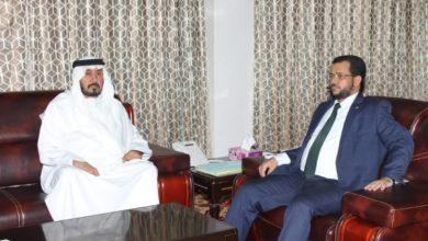 صورة وزير الشؤون الإسلامية يستقبل سفير دولة الإمارات العربية المتحدة