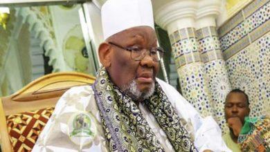 صورة وفاة خليفة الشيخ ابراهيم انياس بالسنغال