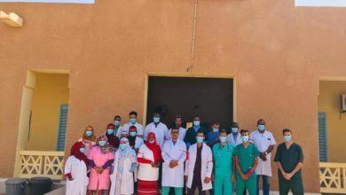 صورة أطار: عمال المركز الصحي يدخلون في إضراب عن العمل