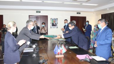 صورة موريتانيا تحصل على هبة ب6 مليون يورو من الوكالة الفرنسية