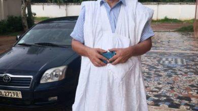 صورة الشاعر عبد الله ولد بونا يكتب عن لقاءه بالرئيس غزواني